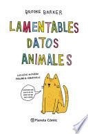 Lamentables datos animales