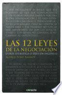 Las 12 leyes de la negociación