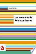 Las aventuras de Robinson Crusoe (low cost). Edición limitada