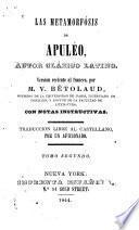 Las metamorfósis de Apuléo