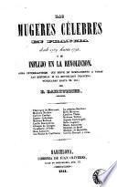 Las mugeres célebres en francia desde 1789 hasta 1795