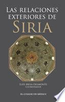 Las relaciones exteriores de Siria