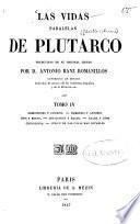 Las vidas paralelas de Plutarco