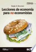 Lecciones de economía para no economistas 3ª edición