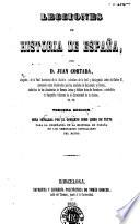 Lecciones de historia de España