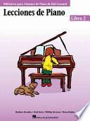 Lecciones de Piano, Libro 2