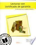 Lecturas con certificado de garantía