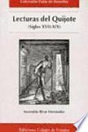 Lecturas del Quijote (siglos XVII-XIX)