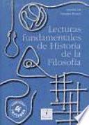 Lecturas fundamentales de Historia de la Filosofía
