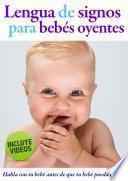 Lengua de signos para bebés oyentes