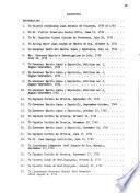 Letters and memorials of Fray Mariano de los Dolores y Viana, 1737-1762