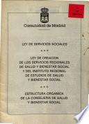 Ley de servicios sociales [de la Comunidad de Madrid]