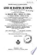 Leyes de Hacienda de España