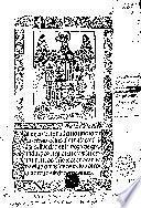 Leyes del quaderno nueuo de las re[n]tas de las alcaualas y fra[n]q[ue]zas hecho en la vega de Granada, por el qual el rey e reyna ... reuocan todas las otras leyes de los otros quadernos fechos de antes