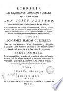 Libreria de Escribanos Abogados y Jueces, 1