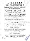 Libreria de escribanos e instruccion juridica theorico práctica de principiantes