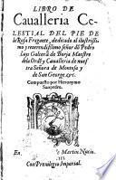 Libro de cavalleria celestial del pie de la rosa fragante