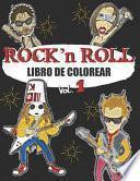 Libro de Colorear Rock N Roll