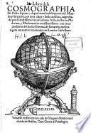 Libro de la Cosmographia de Pedro Apiano