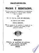 Libro de la Oración y Meditación
