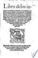 Libro de los inve[n]tores del arte de marear y de muchos trabajos que se passan en las galeras
