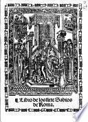 Libro de los siete sabios de Roma