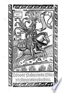 Libro de Palmerin de Oliva y de sus grandes hechos