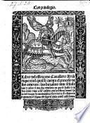 Libro del esforcado cavallero Arderique traduzido de lengua estrangera en la comun castellana (por Juan de Molina)