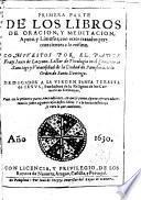 Libros de oración y meditación, ayuno y limosna