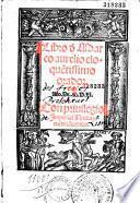 Libros [ed. par Antonio de Guevara]