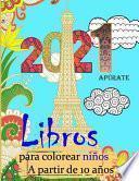 libros para colorear niños a partir de 10 años