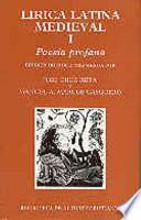 Lirica latina medieval