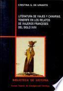 Literatura de viajes y Canarias