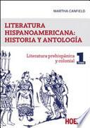 Literatura hispanicoamericana: historia y antologia