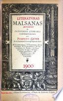 Literatvras malsanas; estudios de patología literaria contemporánea