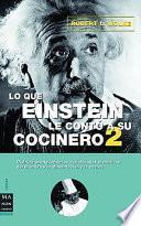 Lo que Einstein le contó a su cocinero