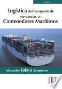 Logística de transporte de mercancias en contenedores marítimos