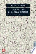 Los 1001 años de la lengua española