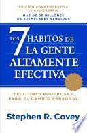 Los 7 Hábitos de la Gente Altamente Efectiva Ne