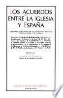 Los Acuerdos entre la Iglesia y España