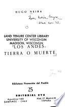 Los Andes: tierra o muerte