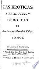 Los cinco libros de la Consolacion de Severino Boecio, tr. por don Estevan Manuel de Villegas
