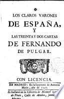 Los Claros Varones de España y las Treinta y dos Cartas de Fernando del Pulgar