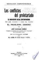 Los conflictos del proletariado, el movimiento social contemporáneo