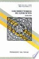 Los directorios de ejercicios, 1540-1599