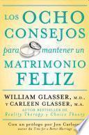 Los ocho consejos para mantener un matrimonio feliz
