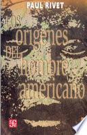 Los origenes del hombre americano