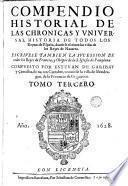 Los Quarenta libros del compendio historial de las chronicas y universal historia de todos los reynos de España, 3
