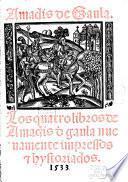 Los quatro libros de Amadis de Gaula
