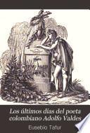 Los últimos dias del poeta colombiano Adolfo Valdes